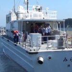 横浜税関の職員らが海難訓練実施